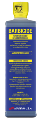 BARBICIDE DISINFECTION LIQUID 473ML