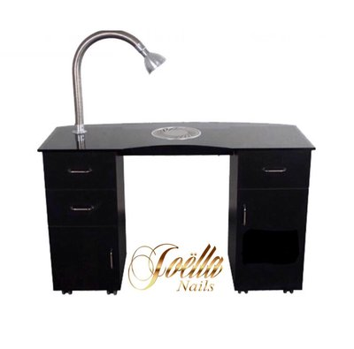 Nageltafel / Manicuretafel Uni-Table Zwart