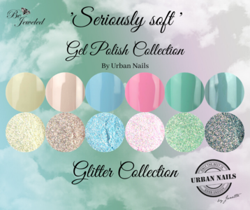 Seriously Soft Gel Polish & Glitter Collection