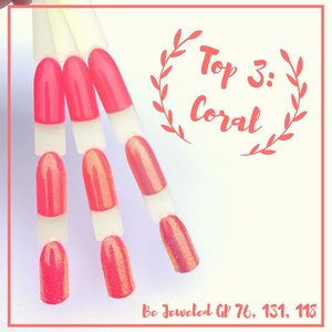 The Top 3: Coral