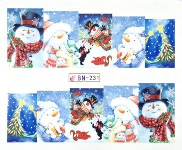 Water Decal Sticker BN-231