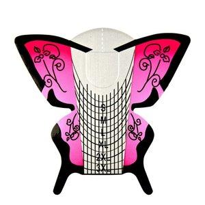 Sjablonen Vlinder Stiletto Urban Nails