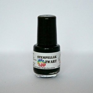 Urban Nails Stempel Lak Zwart