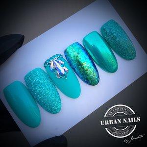 Urban Nails Blue