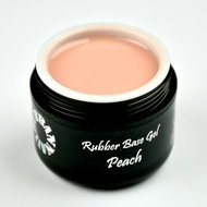 Rubber Base Gel Peach 5G