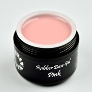 Rubber Base Gel Pink 15G